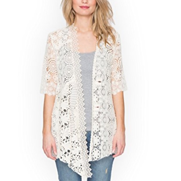 Johnny was 4 love and liberty Bessie crochet top